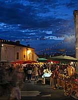 Galapian night market - copyright Peter Evans